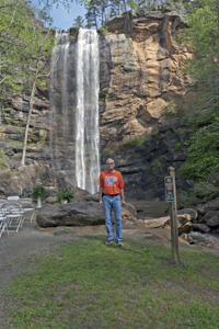 picture of Dwight at Toccoa Falls, Georgia 2012