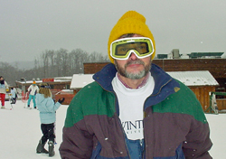 picture of Dwight at the ski slopes 2002